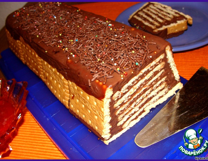 Рецепт: Кекс без выпечки-2