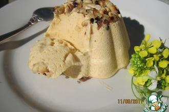 Рецепт: Пряное тыквенное мороженое с медом
