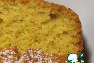 Рецепт: Деревенский тыквенный пирог