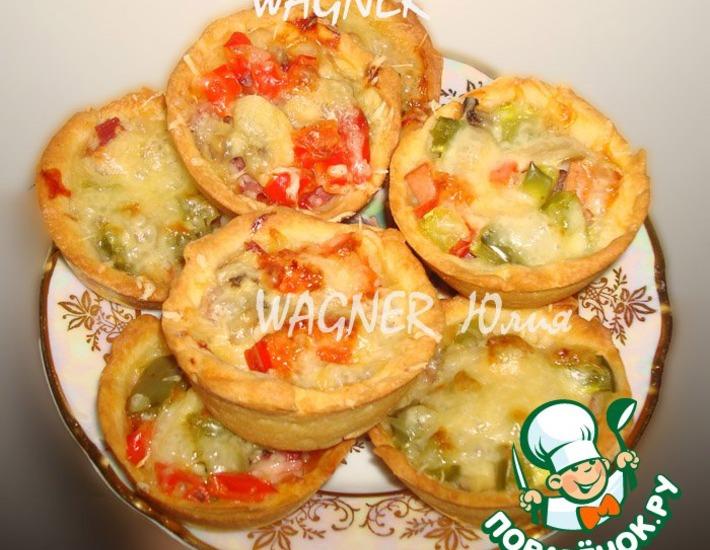 Рецепт: Пицца Гости на пороге