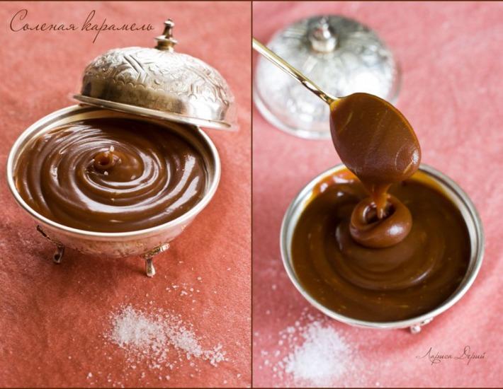 Рецепт: Соленая карамель