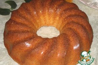 Рецепт: Обыкновеннный творожный кекс