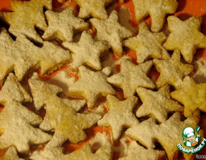 Рецепт: Песочное тесто на растительном масле