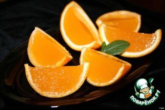 Рецепт: Десерт Оранжевое настроение