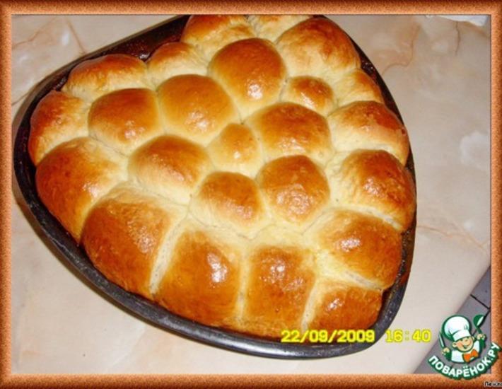 Рецепт: Пирог с начинкой Бухтель