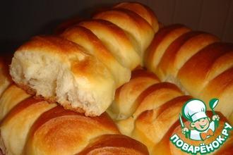 Рецепт: Венский хлеб на закваске