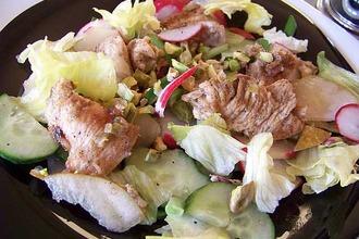Рецепт: Салат Птица и груша