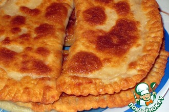 Рецепт: Манно-овсяные лепешки с сыром
