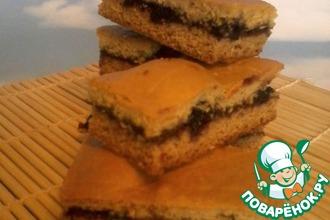 Рецепт: Печенье медовое с вареньем