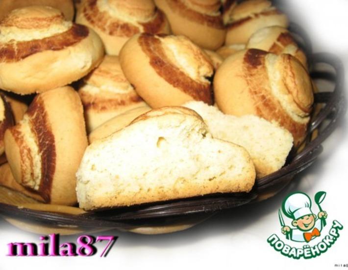 Рецепт: Печенье Счастье грибника