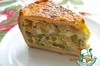 Рецепт: Пирог Оливье