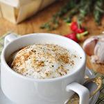 Суп-капучино из белых грибов и шампиньонов
