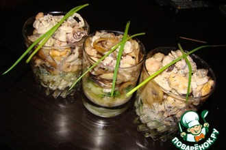 Рецепт: Салат-коктейль