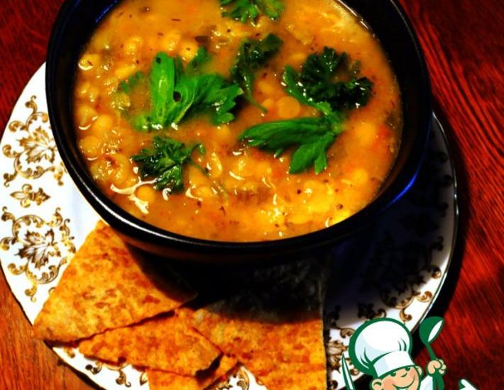 Рецепт: Гороховый суп по-канадски