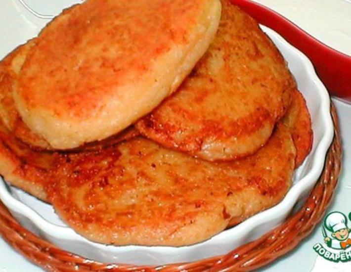 Рецепт: Оладьи с сыром