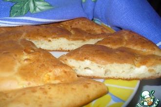 Рецепт: Болгарская лепешка с брынзой