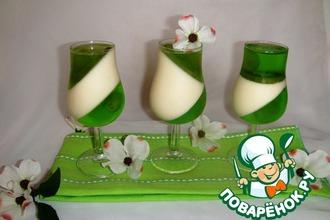 Рецепт: Десерт Изумруд