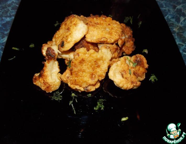 Рецепт: Цветная капуста в кляре