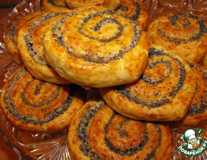 Рецепт: Печенье Маковый соблазн