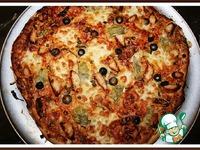 Оригинальная пицца-барбекю с курицей ингредиенты
