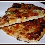 Оригинальная пицца-барбекю с курицей
