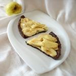 Яблочный тарт Какао с миндальной пастой
