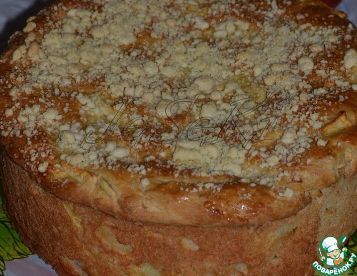 Рецепт: Белорусский яблочный пирог