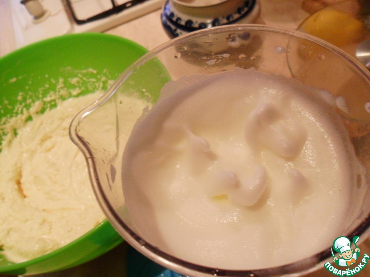Творожный пирог со штрейзелем