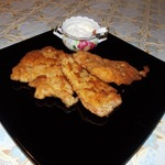 Жареное куриное филе в панировке