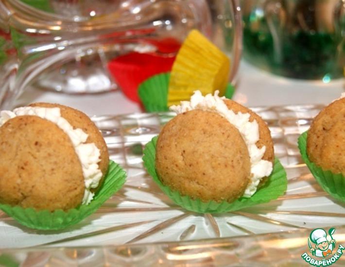 Рецепт: Печенье Соленый поцелуй