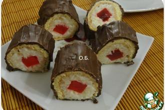 Рецепт: Пирожное Суши
