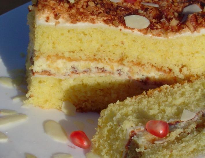"Рецепт: Торт ""Блаженство"""