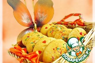 Рецепт: Песочное печенье Лакомство со вкусом детства