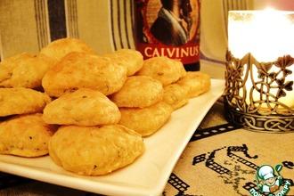 Рецепт: Мягкие сырные сухарики «Лепреконы»