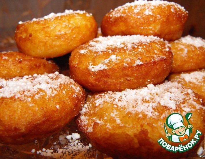 Рецепт: Рисовые пончики