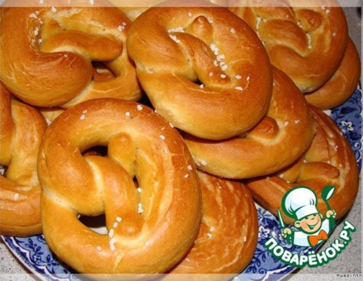 Рецепт: Немецкие брецели-2
