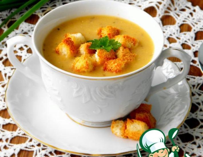 Рецепт: Суп-пюре из красной чечевицы