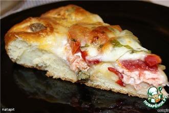 Рецепт: Мясной пирог с моцареллой