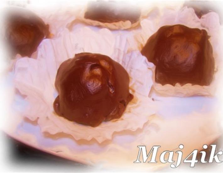 Рецепт: Конфеты Грильяж в шоколаде по-домашнему