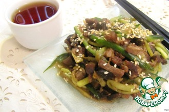 Рецепт: Китайский салат По-домашнему