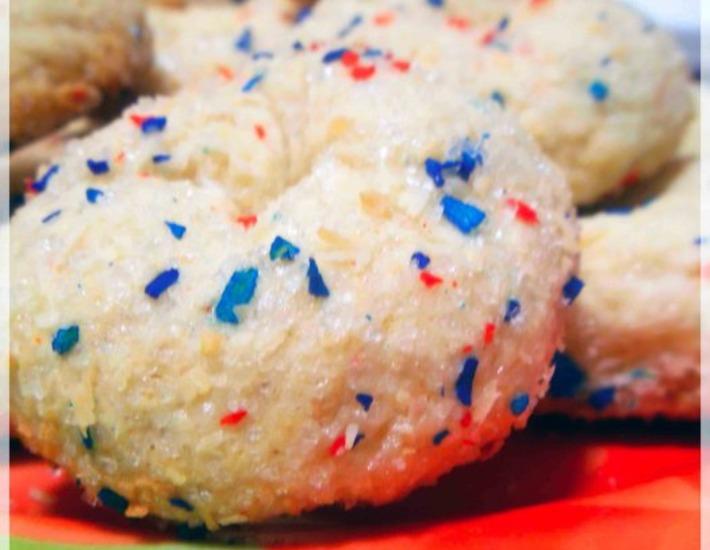 Рецепт: Быстрое сахарное печенье Скорри