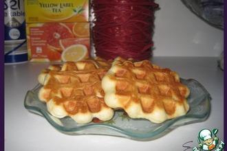 Рецепт: Льежские вафли