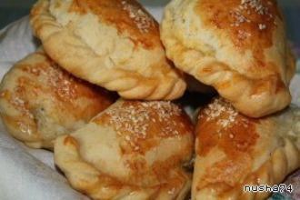 Рецепт: Пирожки Бурекитос