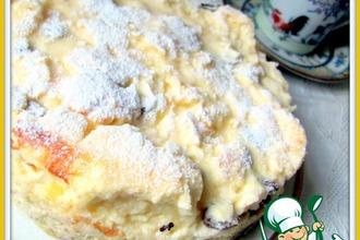 Рецепт: Творожный торт Облачко