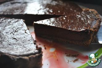 Рецепт: Шоколадный пирог из Fifteen