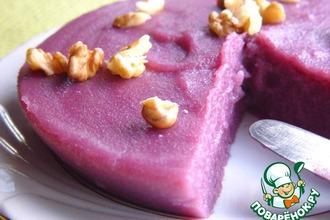 Рецепт: Десерт из виноградного сока Пеламуши
