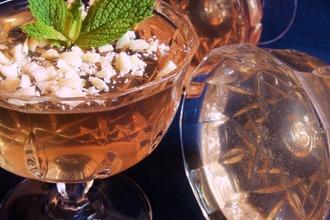 Рецепт: Желе из шампанского «Розовый лeд»
