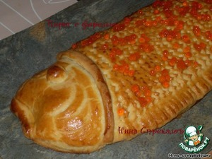 Рецепт Горбуша в тесте