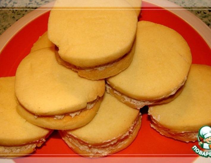 Рецепт: Печенье Тающие моменты