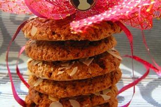 Рецепт: Овсяное печенье с медом